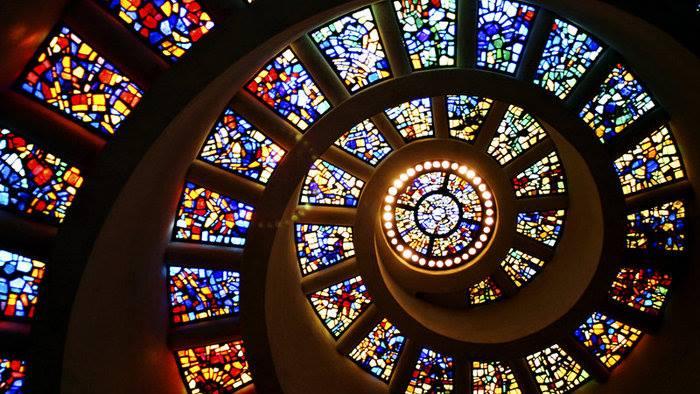 Kurz vitráže – sklokeramická lampa